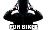 For motorcyclist